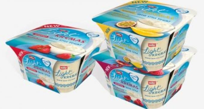 Müller Introduces Three New Yogurts