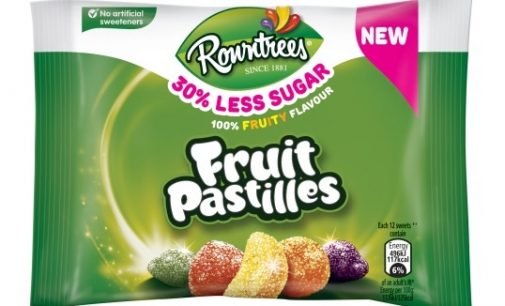 Nestlé UK Launches New 30% Less Sugar Versions of Rowntree's Favourites