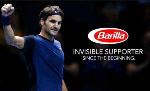 Roger Federer is Barilla's New Global Brand Ambassador
