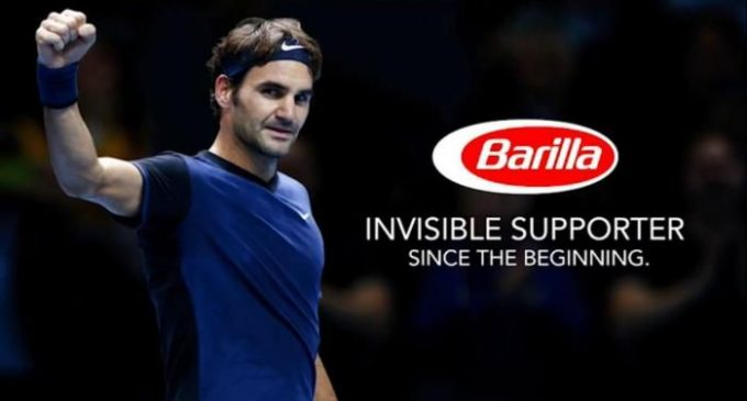 Roger Federer is Barilla's New Global Brand Ambassador