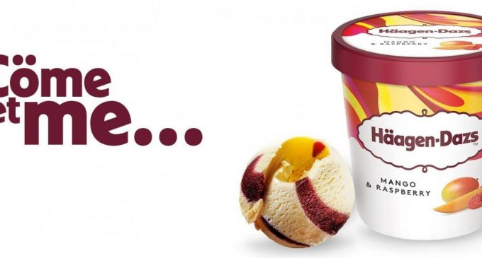Häagen-Dazs Launches Landmark UK Brand Re-set