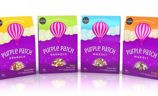 Purple Patch Cereals' Stunning New Packs From Qualvis