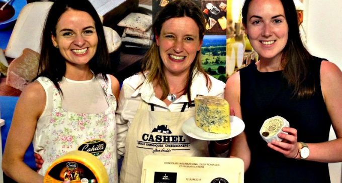 Irish Cheesemakers Win Gold, Silver and Bronze at International Cheese Fair