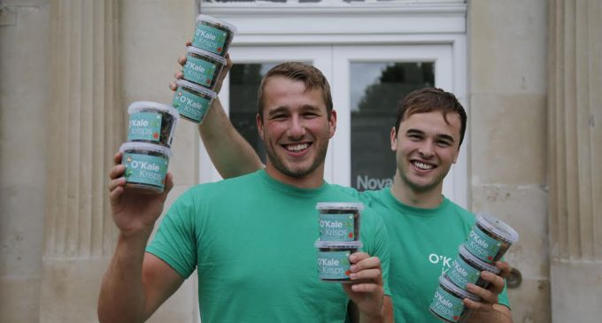 O'Kale Krisps Wins University College Dublin's 2017 Start-Up Programme For Students