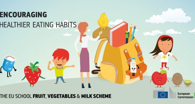 New EU School Scheme to Promote Healthy Eating Habits