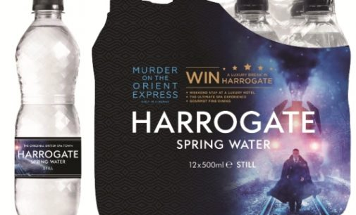 Harrogate Water Partners 20th Century Fox in Murder on the Orient Express