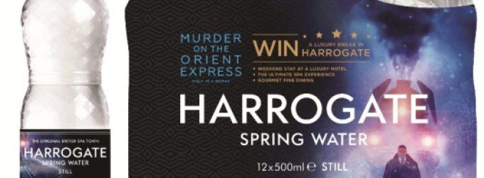 Harrogate Water Partners 20thCentury Fox in Murder on the Orient Express