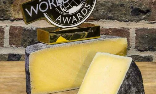 Cornish Kern From the UK Named World Champion Cheese 2017