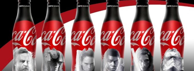 Coca-Cola Uses the Force of Ardagh's Shaped Aluminium Bottles For Star Wars Limited Edition