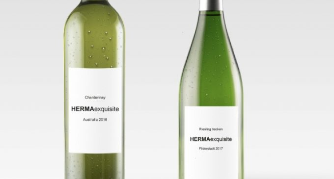 New HERMA Self-adhesive Material For Wine Labels