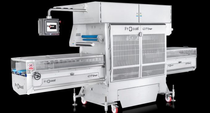Proseal Tray Sealer Enables Outstanding Throughput