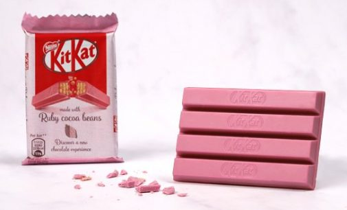 KITKAT Ruby Arrives in the UK