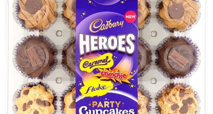 Premier Foods Unveils New Cadbury Heroes Cupcakes Range