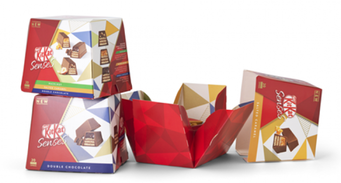 AR Packaging Supports Speed to Market For Nestlé's New KitKat Senses Pack