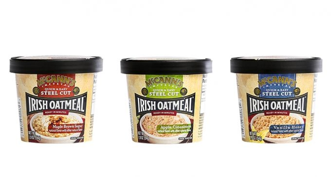 McCann's Irish Oatmeal Sold to B&G Foods