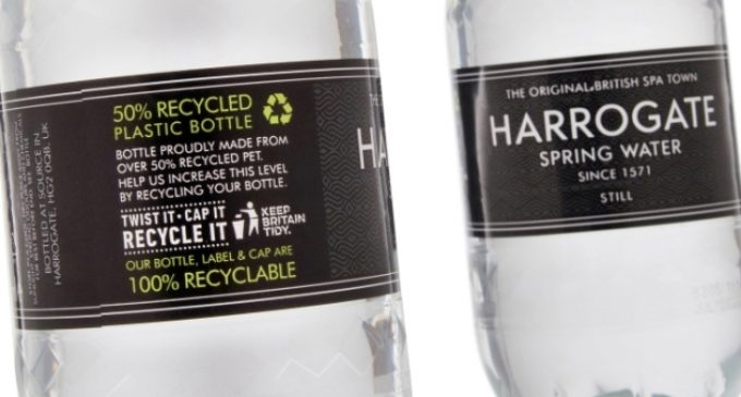 Harrogate Water Going Greener With Recycling Message