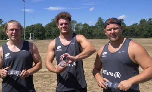 Rugby Stars Back Harrogate Water Recycling