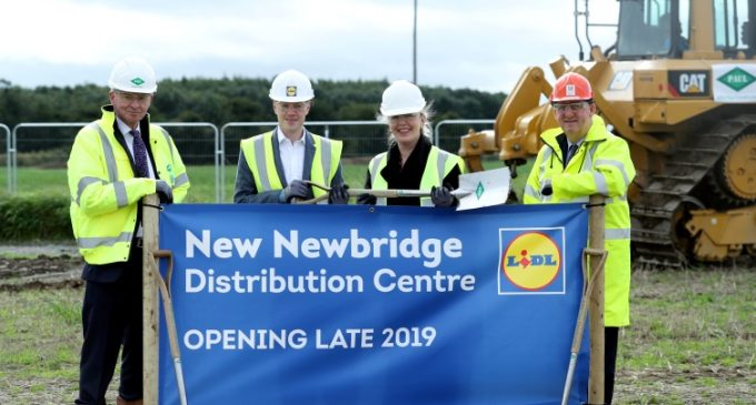 Work Commences on New €100 Million Lidl Distribution Centre in Ireland