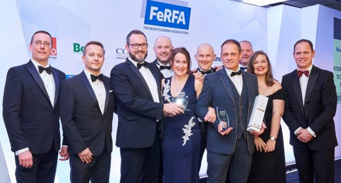 Large Wins For Flowcrete UK at FeRFA Awards 2018