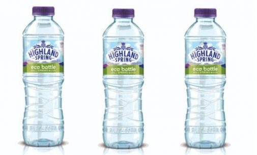 Highland Spring's 100% Recyled Plastic Eco Bottle is Here to Stay After Major Trial Success