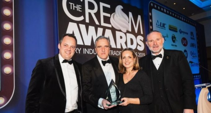 Arla 360 Wins Big Innovation Award at the 2019 Cream Awards