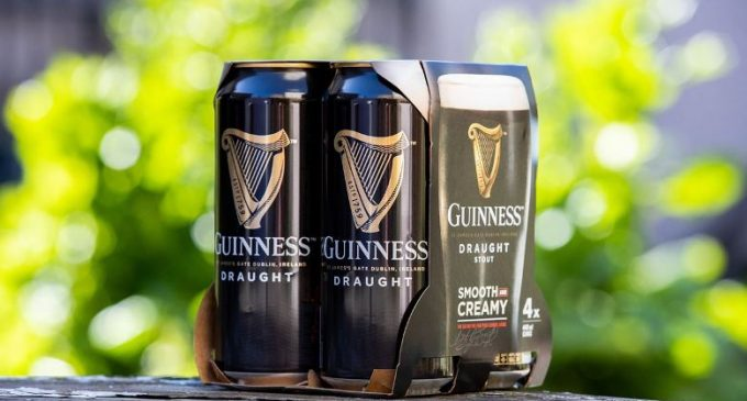 Guinness Removes Plastic Packaging From its Beer Packs