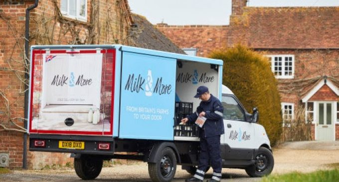 Milk & More Invests in UK's Biggest Electric Fleet
