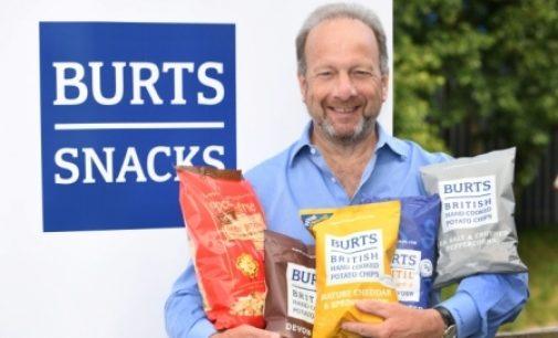 Newly Formed Burts Snacks Targets £100 Million Sales