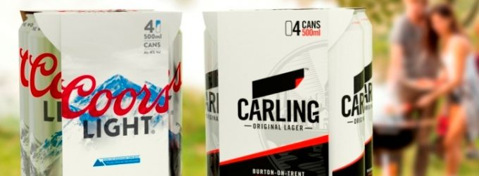 Molson Coors Commits to Reduce Plastics in Packaging