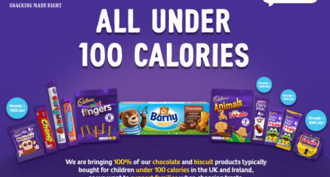 Mondelēz International to Bring 100% of its Chocolate and Biscuit Products For Children Under 100 Calories in the UK and Ireland