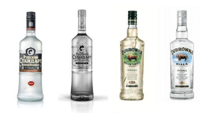 Russian Standard Vodka and Żubrówka Vodka Land Top Awards at International Wine and Spirit Competition
