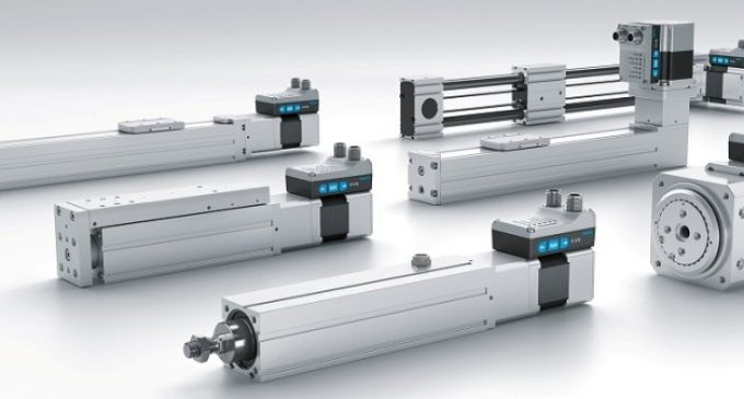Simplified Motion Series electric drives from Festo are easy to use – just plug and work