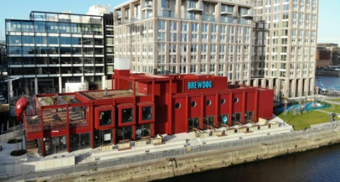 BrewDog Opens 100th Outlet and First Bar in Ireland