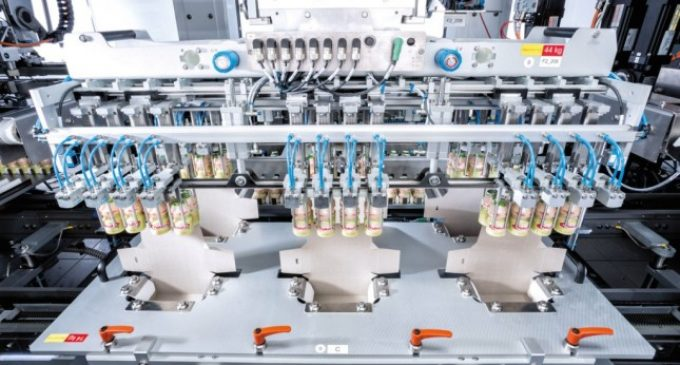 Schubert Packs 720 Yakult Bottles Per Minute