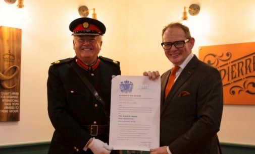 St Pierre Groupe Receives Queen's Award For Enterprise