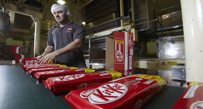 Nestlé Proposes Factory Changes in UK Confectionery Business