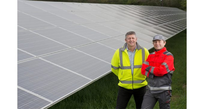 Coca-Cola Now Being Made by Solar Energy in Wakefield