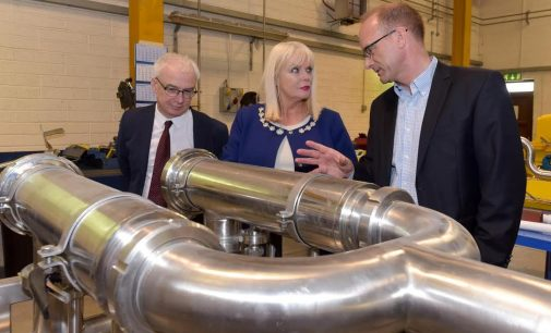 Minister Mitchell O'Connor Visits Flow Technology on Trade and Investment Mission in Ireland