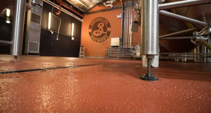 Brooklyn Brewery Chooses Fresh Floor Finish