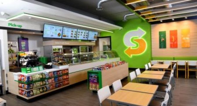Subway Opens 2,500th UK Outlet