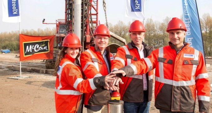Construction of Kloosterboer Lelystad Underway