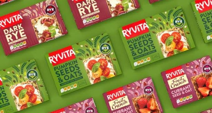 Ryvita Launches New Design Created By Coley Porter Bell