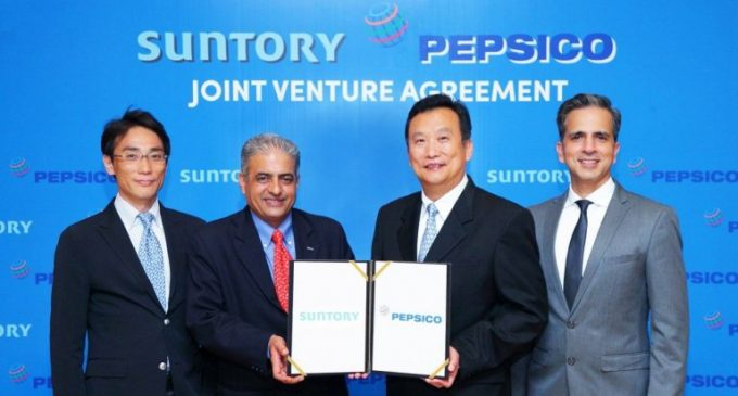 Suntory and PepsiCo to Form Joint Venture in Thailand
