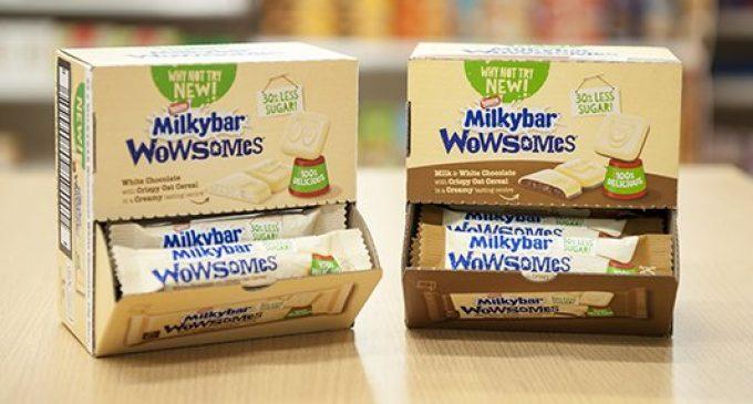 Nestlé's New Milkybar is World First