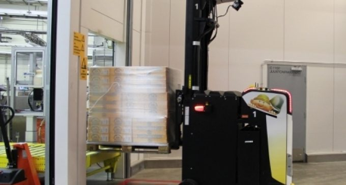 Rocla's Automation Solution Increases Safety and Saves Money at Valio's Cheese Production Plant