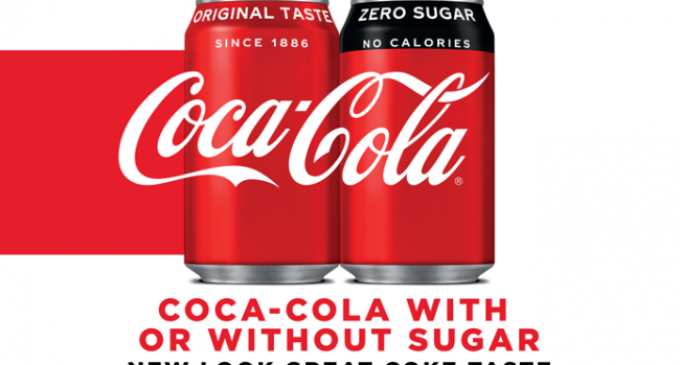 New Look For Coca-Cola Range in Great Britain