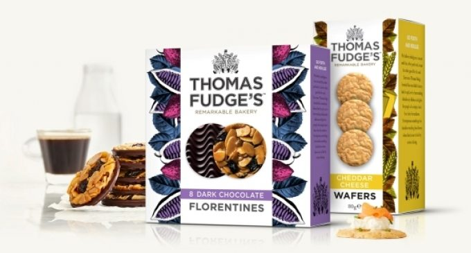 Qualvis Creates Distinctive Packaging For Thomas Fudge's Rebrand