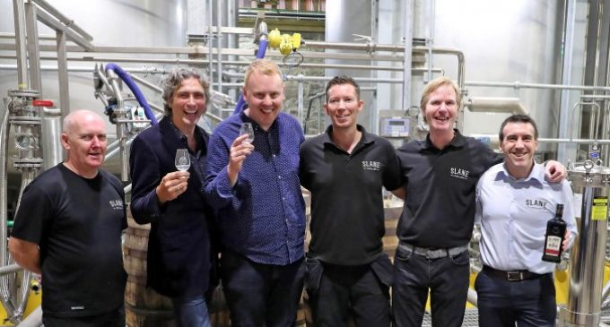 Slane Distillery Rolls Out First Barrel at State-of-the-art Distillery