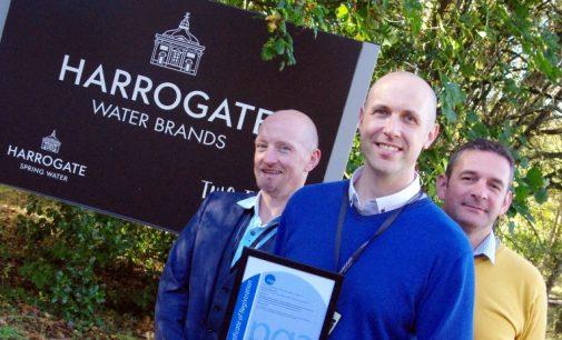 Harrogate Water Joins World's Best