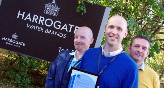 Harrogate Water Joins World's Best